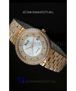 Piaget Altiplano Automatic Swiss Replica Watch in Yellow Gold
