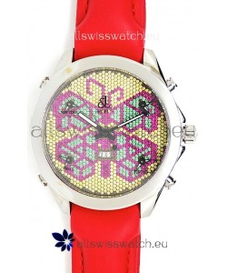 Jacob & Co. The Five Time Zone Butterfly Swiss Replica Watch