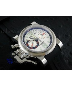 Graham Chronofighter Oversize Swiss Replica Watch in Silver Dial