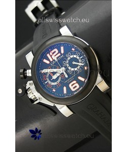 Graham Chronofighter Swiss Replica Watch in Blue Dial
