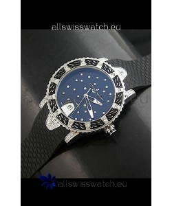 Ulysse Nardin Lady Diver Swiss Automatic Watch in Black Dial