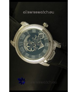 Ulysse Nardin Dual Escapement Japanese Watch in Grey Dial