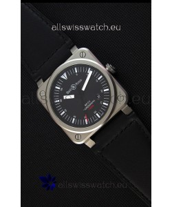Bell & Ross BR03-92 Horograph Black Dial Swiss Leather Strap 1:1 Mirror Replica Watch