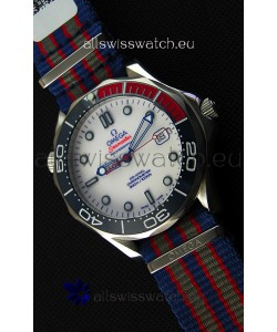 Omega Seamaster Diver 300M 007 Commander's Limited Edition Swiss 1:1 Mirror Replica Watch