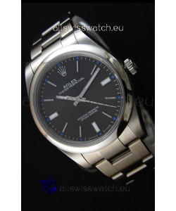 Rolex Oyster Perpetual Cal.3132 Movement Swiss Black Dial Oyster Strap - Ultimate 904L Steel Watch