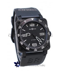 Bell and Ross BR 03 Type Aviation Carbon Swiss Automatic Watch