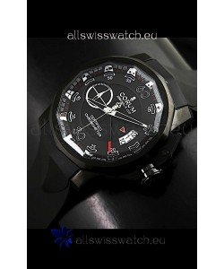 Corum Admiral's Cup Japanese Replica Watch in Black Dial