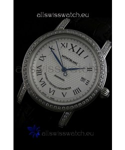 Mont Blanc Swiss Automatic Watch in Stainless Steel
