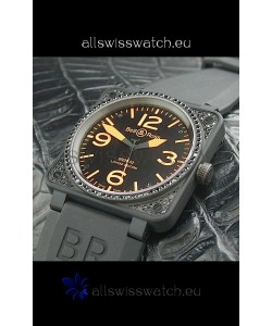 Bell and Ross BR01 92 Limited Edition Swiss Watch in Black Dial