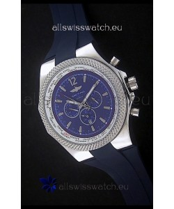 Breitling Bentley Chronograph Japanese Replica Watch in Blue Dial